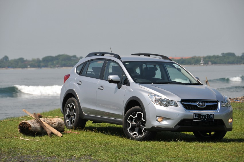 DRIVEN: New Subaru XV 2.0i crossover tested in Bali Image #170698