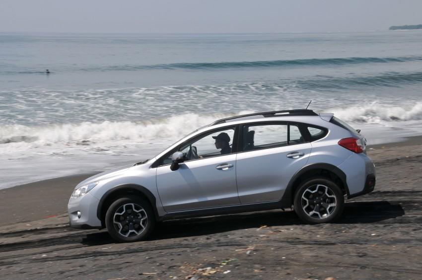 DRIVEN: New Subaru XV 2.0i crossover tested in Bali Image #170697