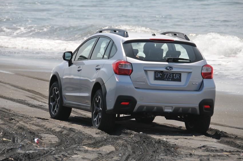DRIVEN: New Subaru XV 2.0i crossover tested in Bali Image #170740