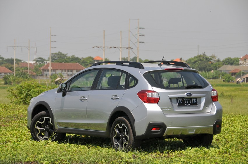 DRIVEN: New Subaru XV 2.0i crossover tested in Bali Image #170694