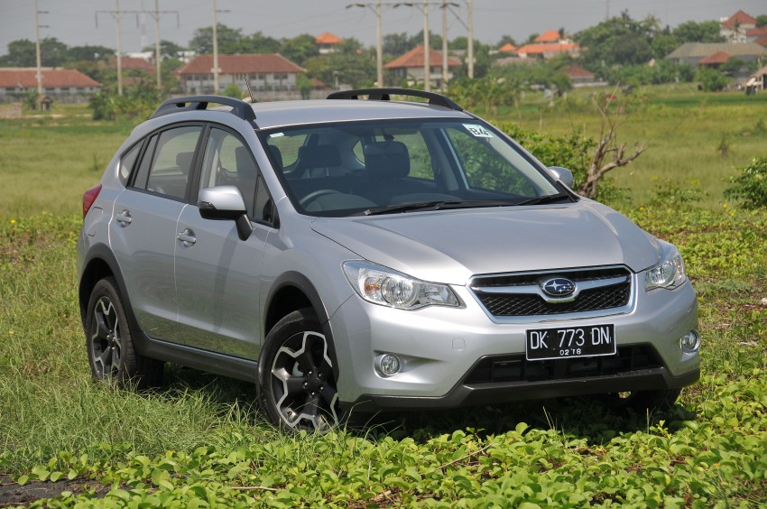 DRIVEN: New Subaru XV 2.0i crossover tested in Bali Image #170692