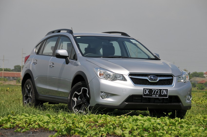 DRIVEN: New Subaru XV 2.0i crossover tested in Bali Image #170691