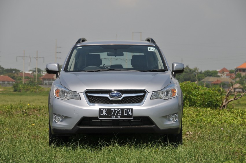 DRIVEN: New Subaru XV 2.0i crossover tested in Bali Image #170690