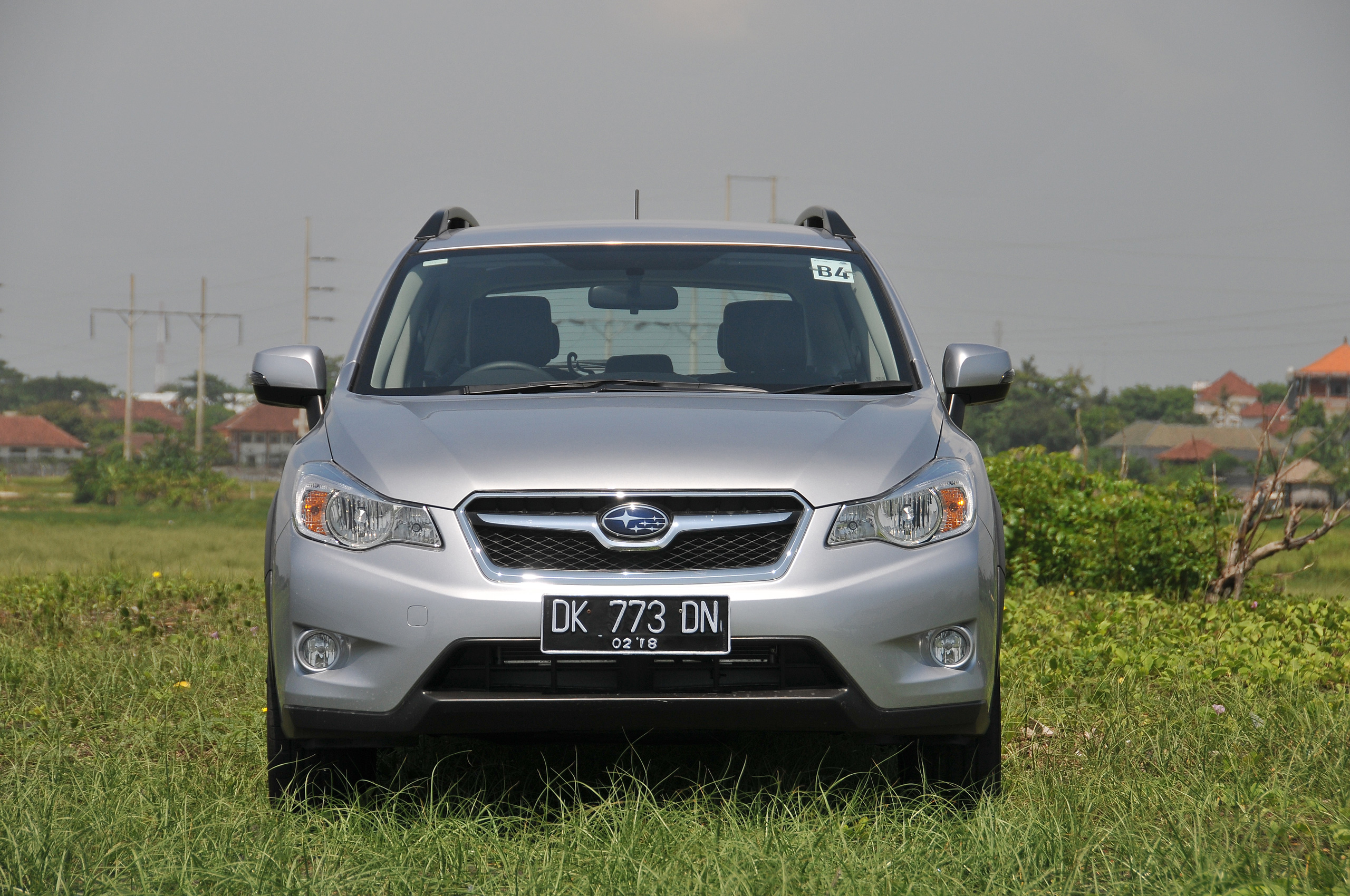 driven new subaru xv crossover tested in bali image. Black Bedroom Furniture Sets. Home Design Ideas