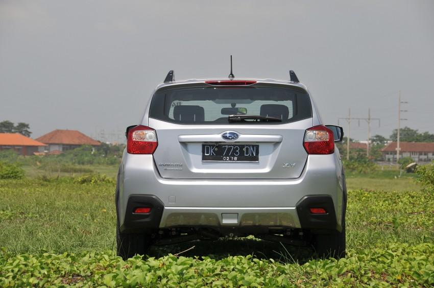 DRIVEN: New Subaru XV 2.0i crossover tested in Bali Image #170688