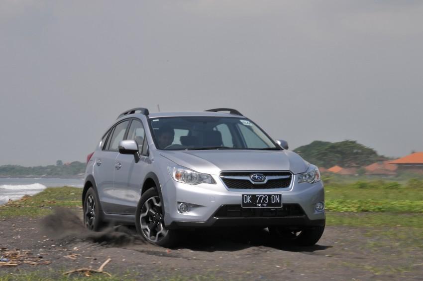 DRIVEN: New Subaru XV 2.0i crossover tested in Bali Image #170687