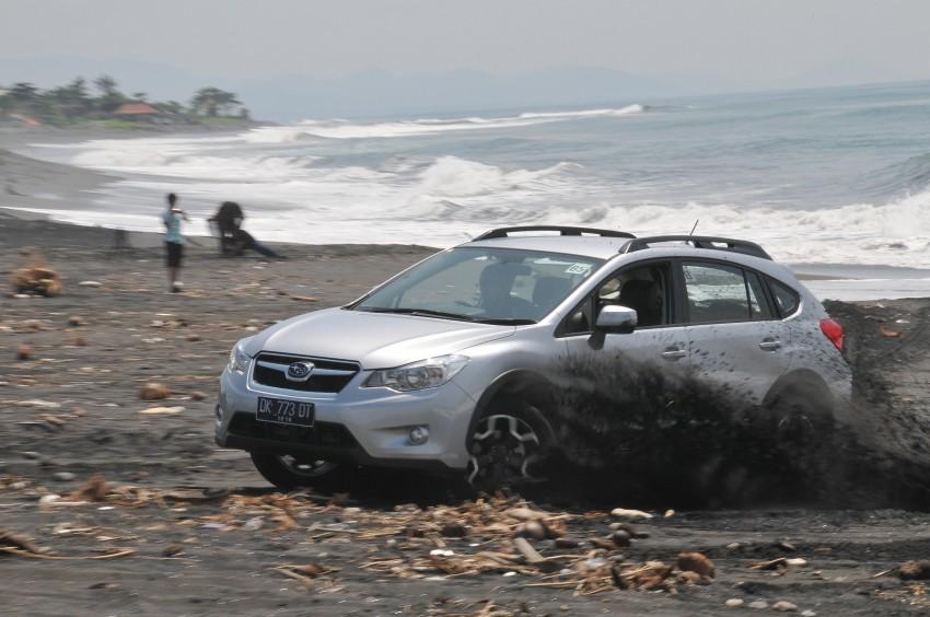 DRIVEN: New Subaru XV 2.0i crossover tested in Bali Image #170685