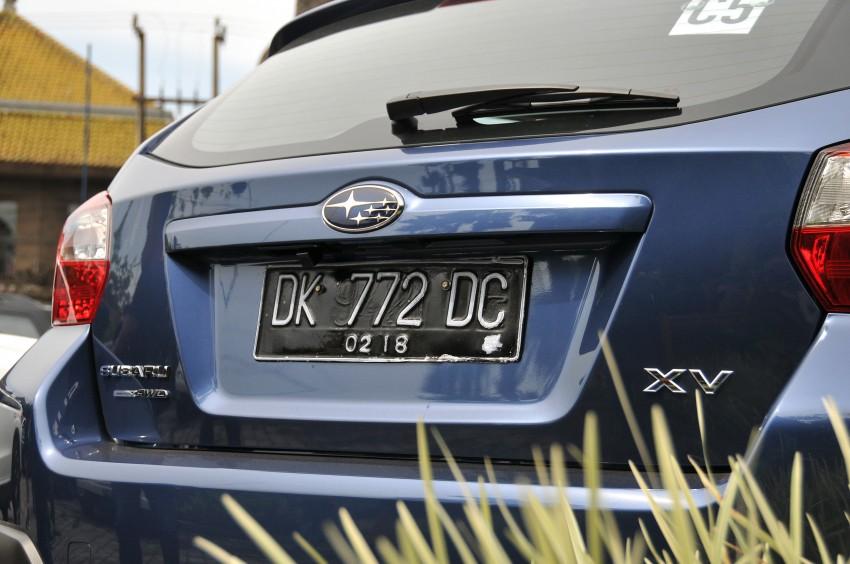 DRIVEN: New Subaru XV 2.0i crossover tested in Bali Image #170679