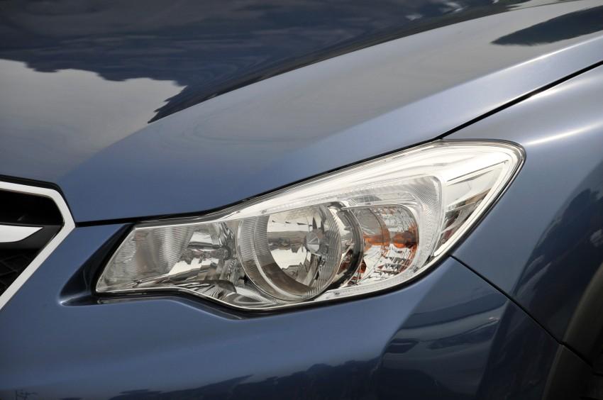 DRIVEN: New Subaru XV 2.0i crossover tested in Bali Image #170676