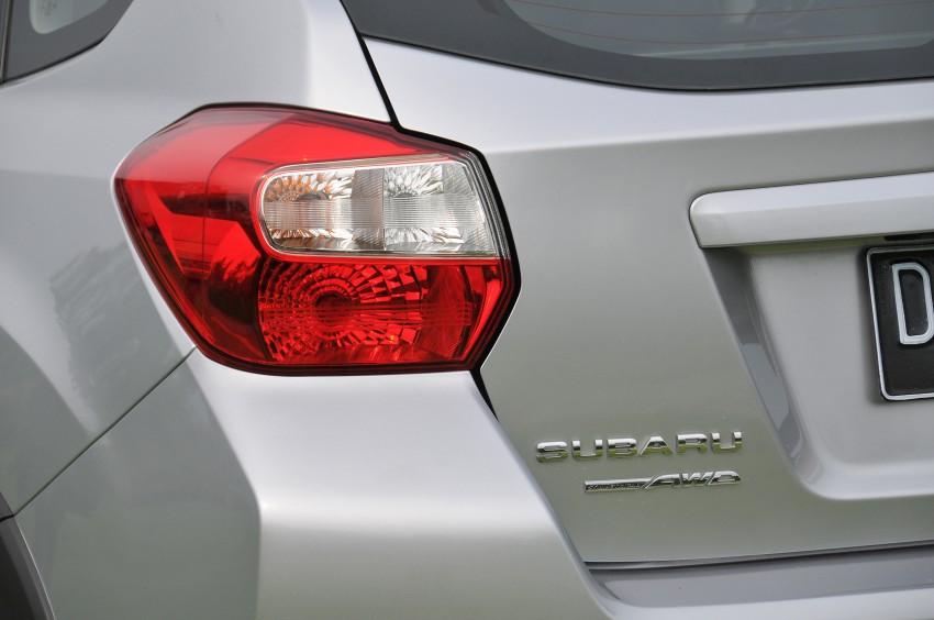 DRIVEN: New Subaru XV 2.0i crossover tested in Bali Image #170671