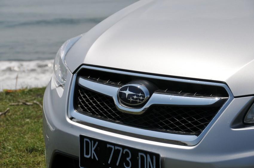 DRIVEN: New Subaru XV 2.0i crossover tested in Bali Image #170667