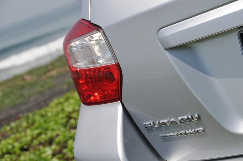 DRIVEN: New Subaru XV 2.0i crossover tested in Bali Image #170665