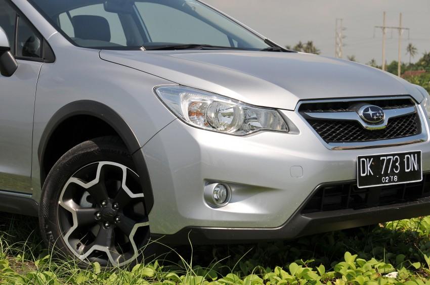 DRIVEN: New Subaru XV 2.0i crossover tested in Bali Image #170661