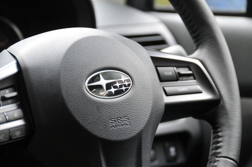 DRIVEN: New Subaru XV 2.0i crossover tested in Bali Image #170659