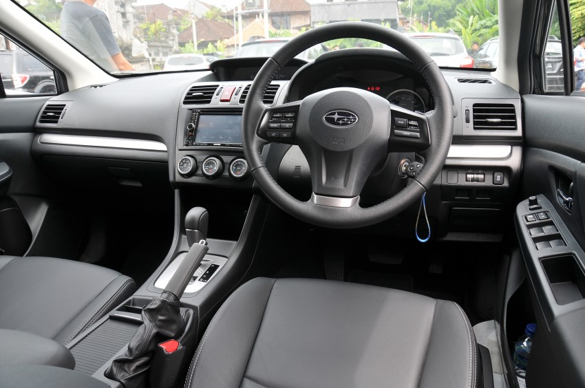 DRIVEN: New Subaru XV 2.0i crossover tested in Bali Image #170657