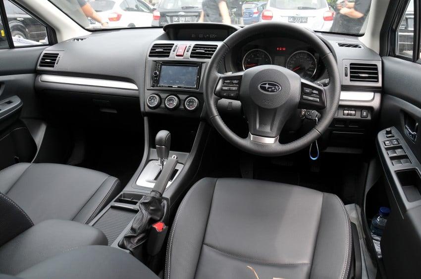 DRIVEN: New Subaru XV 2.0i crossover tested in Bali Image #170656