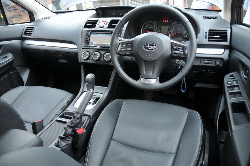 DRIVEN: New Subaru XV 2.0i crossover tested in Bali Image #170645