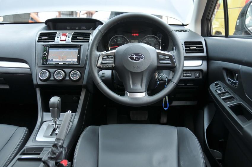 DRIVEN: New Subaru XV 2.0i crossover tested in Bali Image #170644