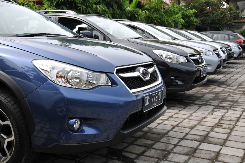 DRIVEN: New Subaru XV 2.0i crossover tested in Bali Image #170632
