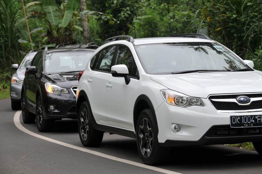DRIVEN: New Subaru XV 2.0i crossover tested in Bali Image #170629