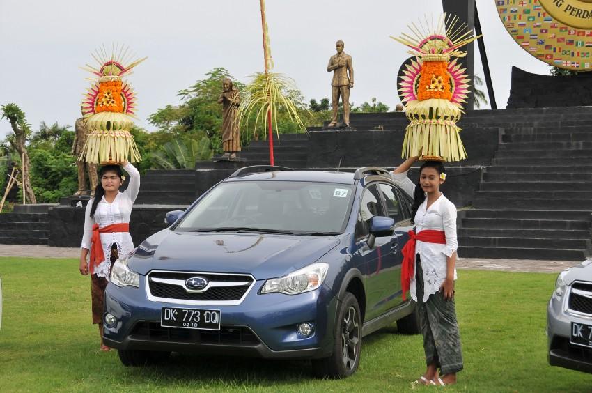 DRIVEN: New Subaru XV 2.0i crossover tested in Bali Image #170626