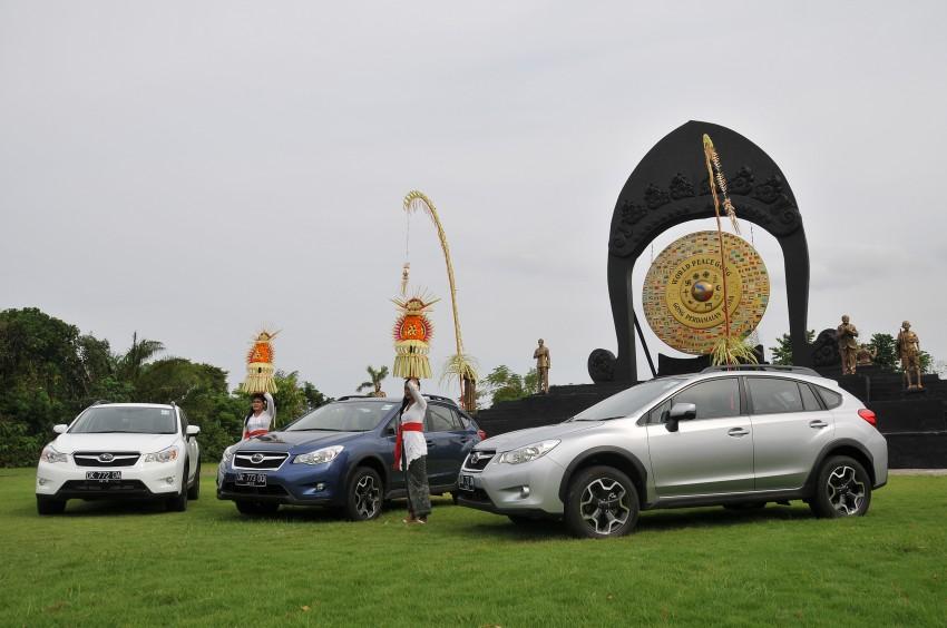 DRIVEN: New Subaru XV 2.0i crossover tested in Bali Image #170625