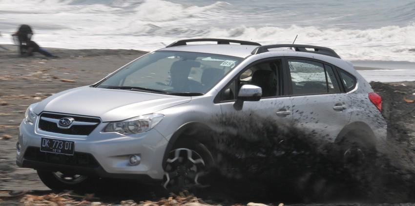 DRIVEN: New Subaru XV 2.0i crossover tested in Bali Image #170868