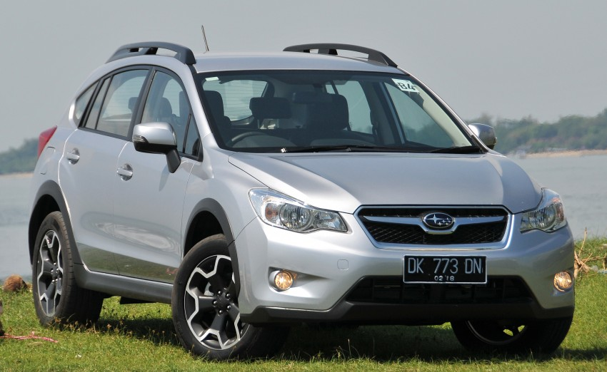 DRIVEN: New Subaru XV 2.0i crossover tested in Bali Image #170875