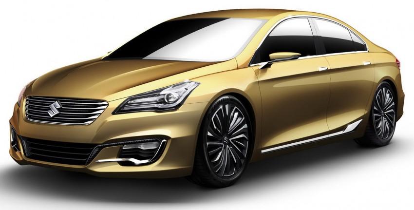 Shanghai 2013 Live: Suzuki Authentics Concept previews upcoming C-segment sedan Image #170124