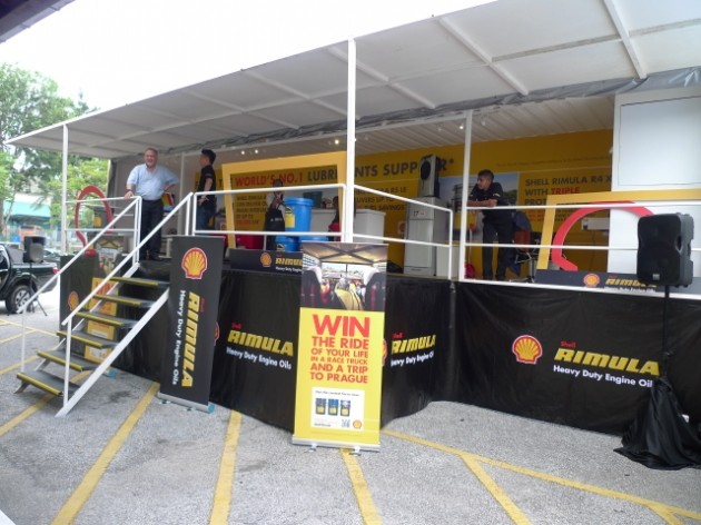 Shell Rimula 'Hardworking Truck'