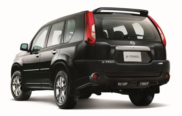 X-Trail rear