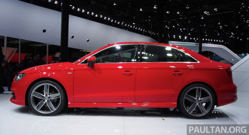 Shanghai 2013: Audi A3 Sedan makes public debut Image #170719