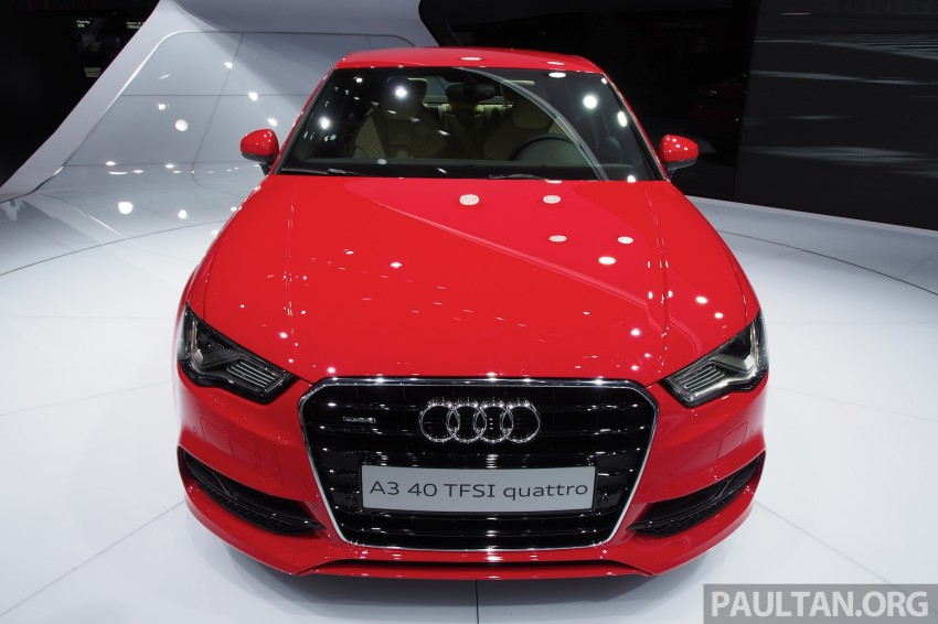 Shanghai 2013: Audi A3 Sedan makes public debut Image #170722