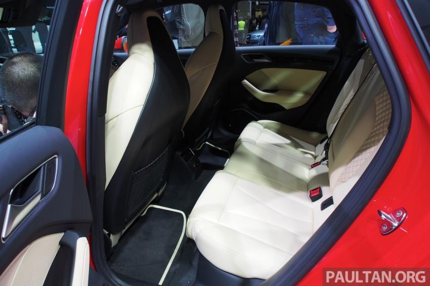 Shanghai 2013: Audi A3 Sedan makes public debut Image #170725