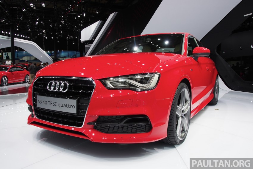 Shanghai 2013: Audi A3 Sedan makes public debut Image #170720