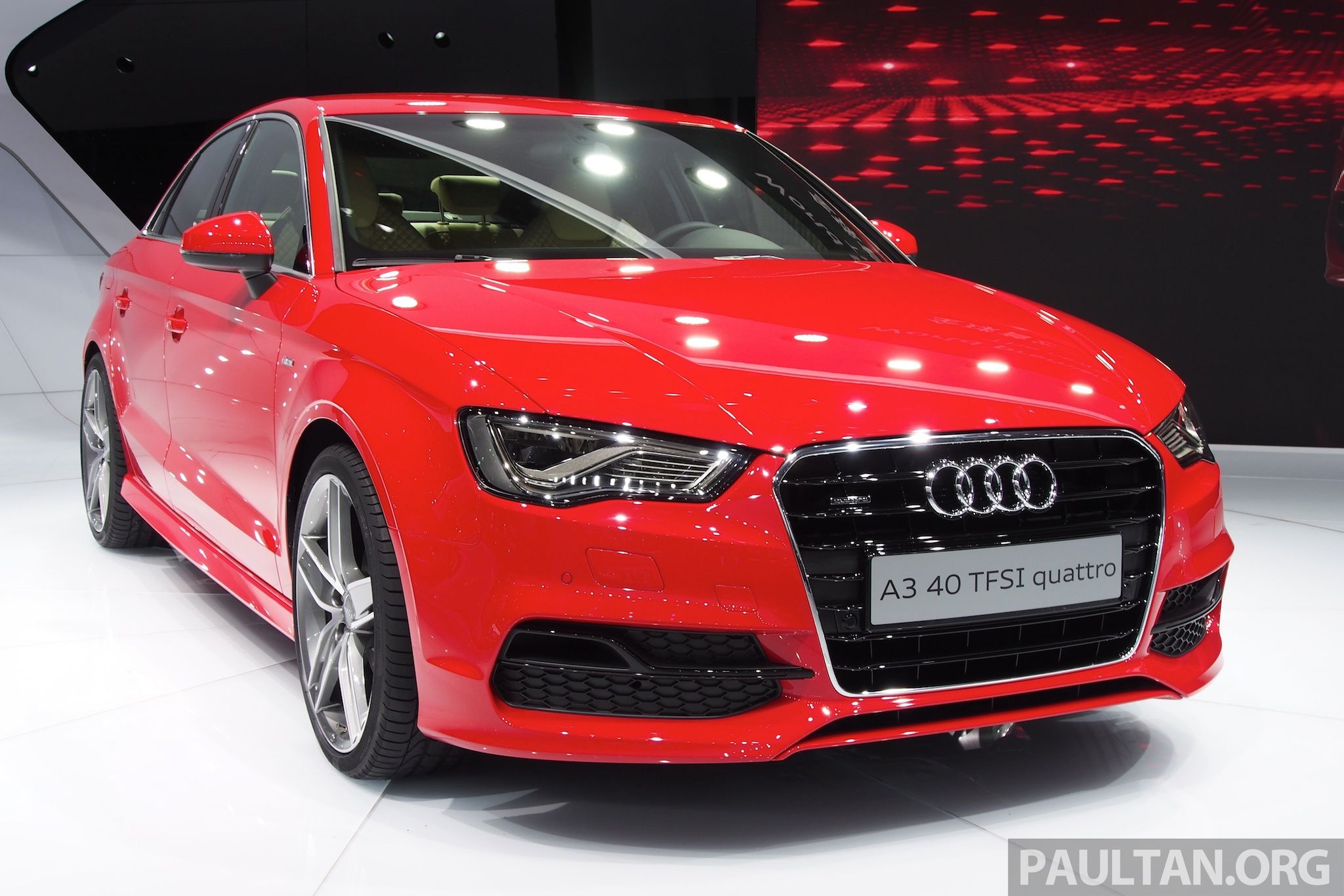 Shanghai 2013 Audi A3 Sedan Makes Public Debut Image 170727