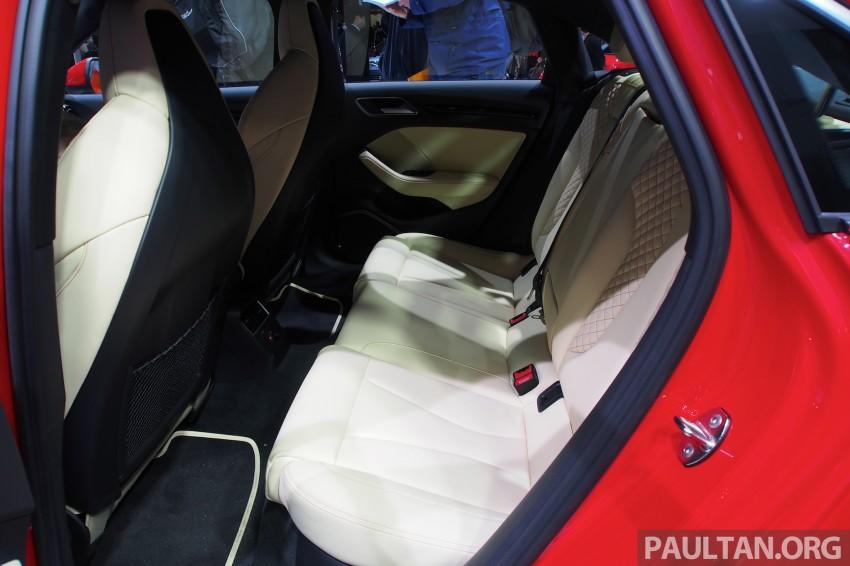 Shanghai 2013: Audi A3 Sedan makes public debut Image #170717