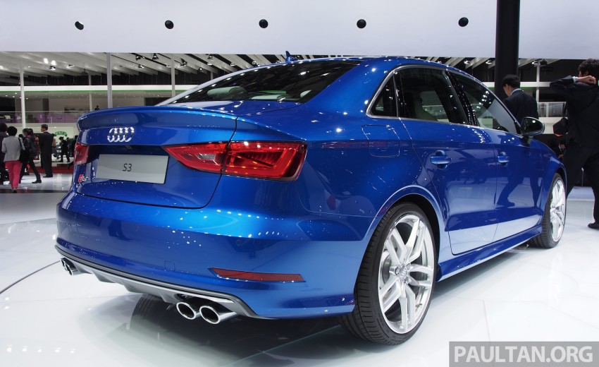 Shanghai 2013: Audi A3 Sedan makes public debut Image #171240