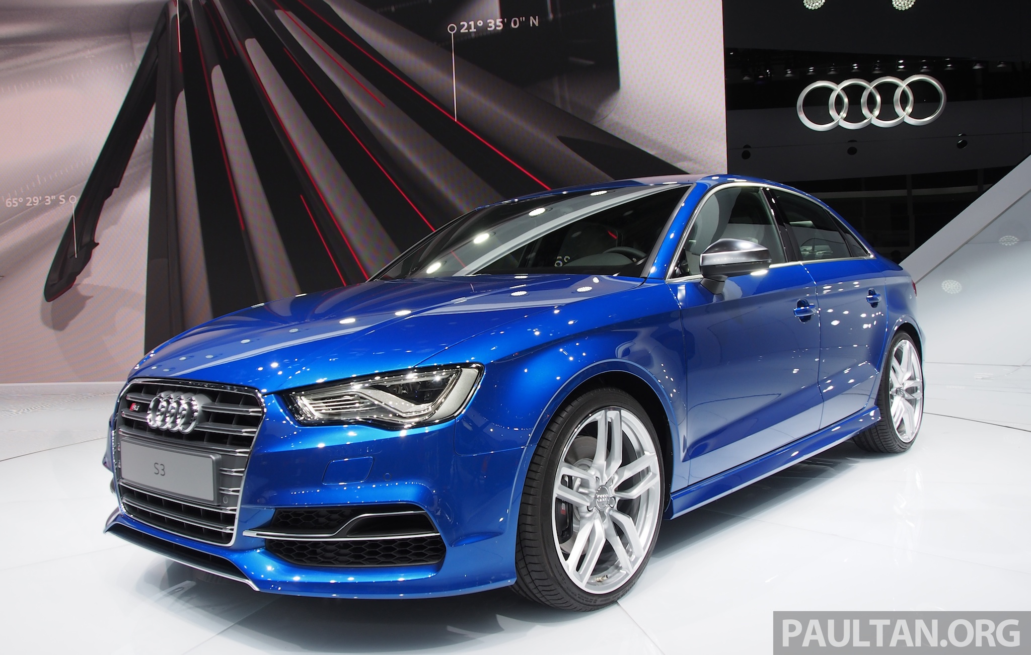 Shanghai 2013 Audi A3 Sedan Makes Public Debut Image 171241