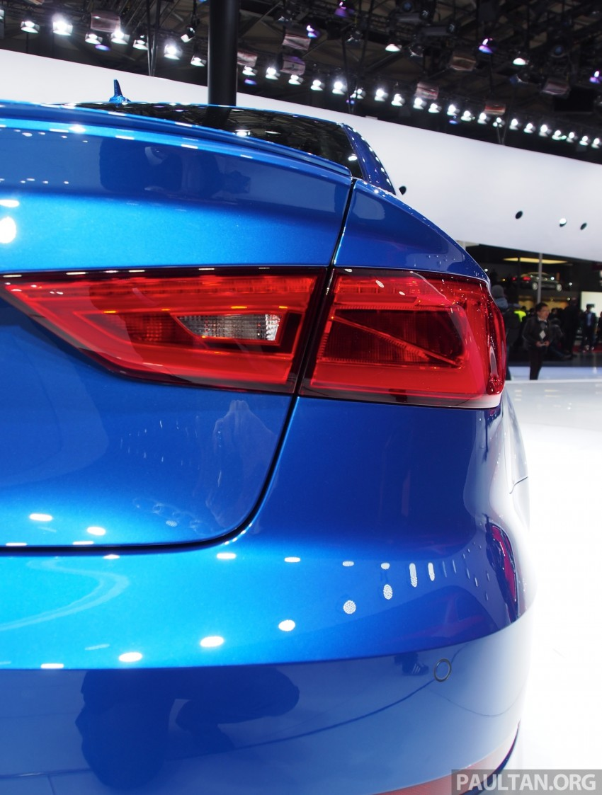 Shanghai 2013: Audi A3 Sedan makes public debut Image #171243