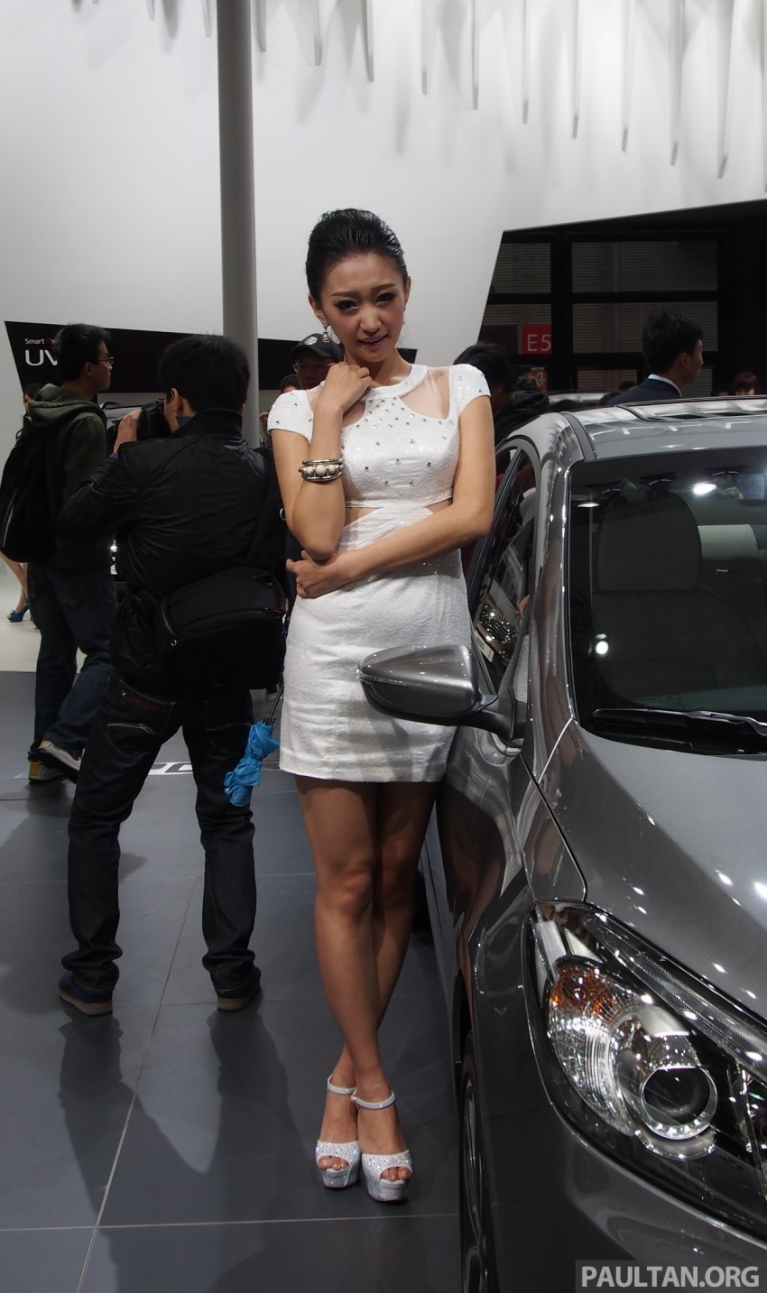 Mysterious ladies of Shanghai 2013 end our coverage Image #170238