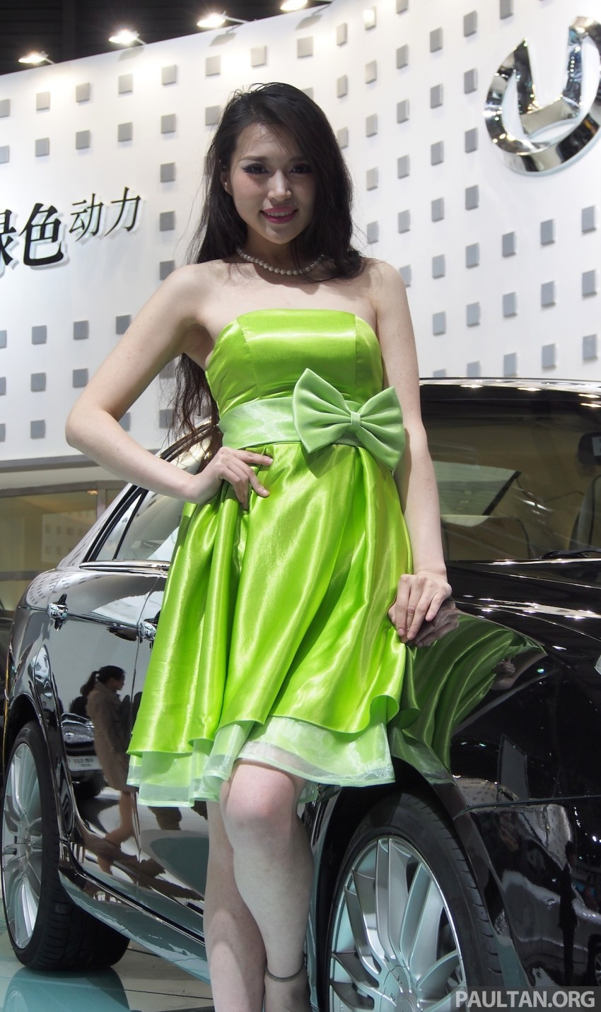 Mysterious ladies of Shanghai 2013 end our coverage Image #170204
