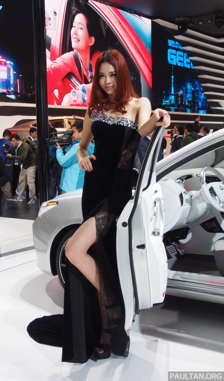 Mysterious ladies of Shanghai 2013 end our coverage Image #170213