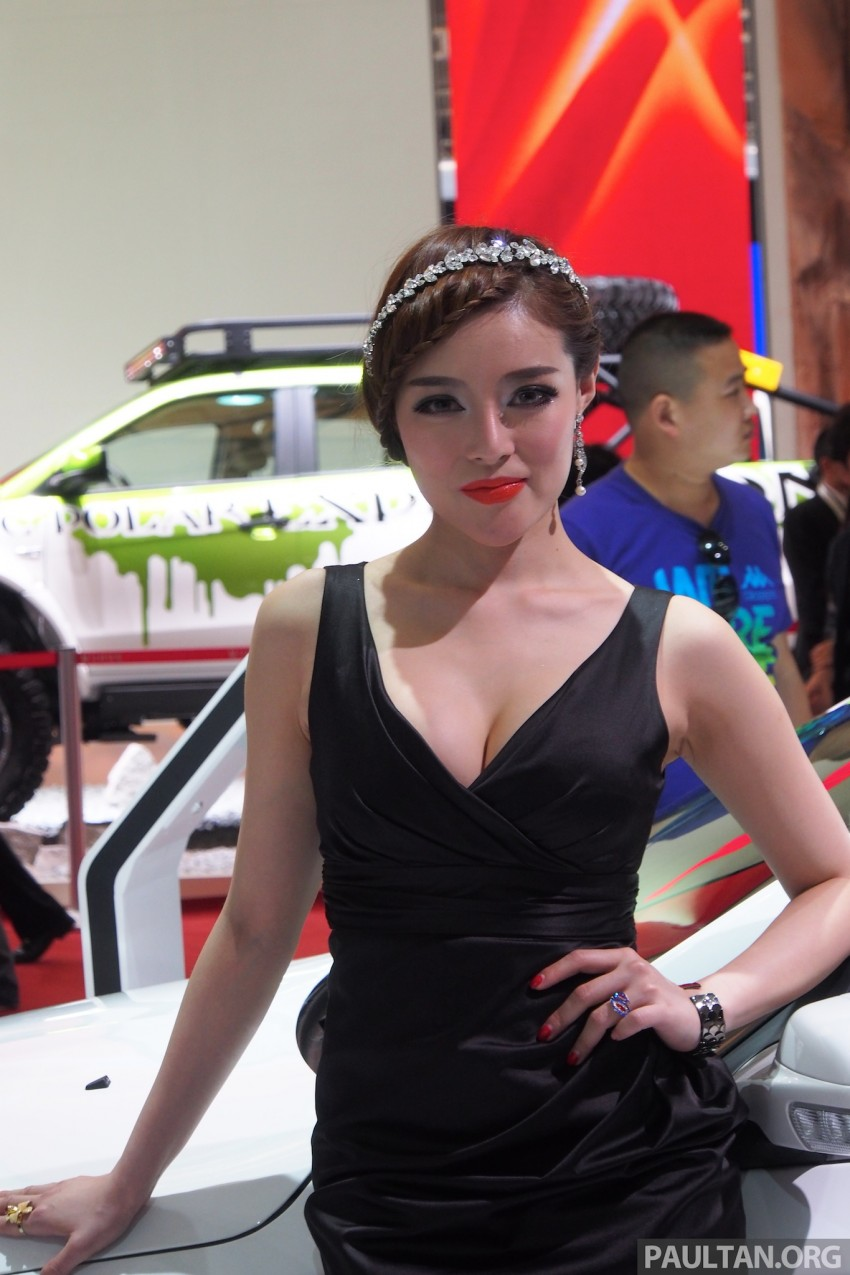 Mysterious ladies of Shanghai 2013 end our coverage Image #170431