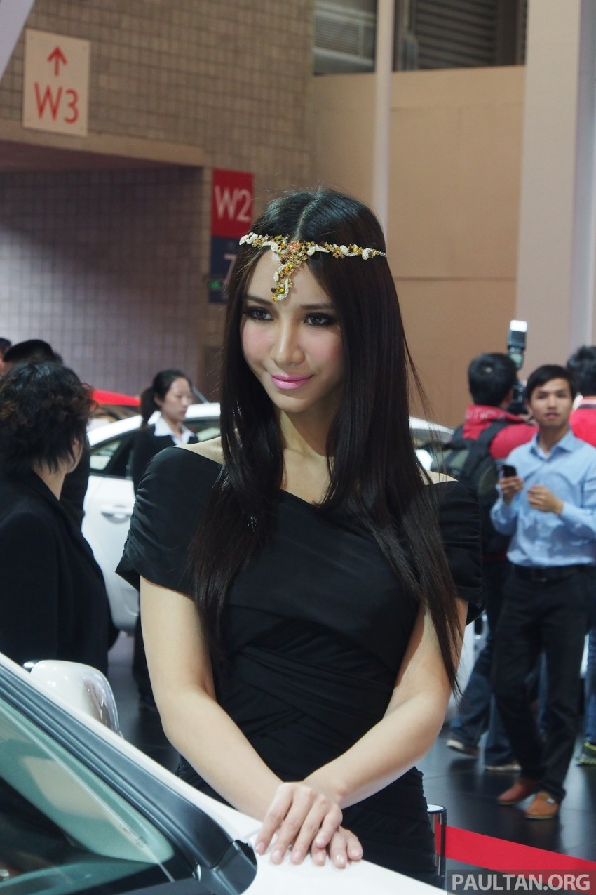 Mysterious ladies of Shanghai 2013 end our coverage Image #170419