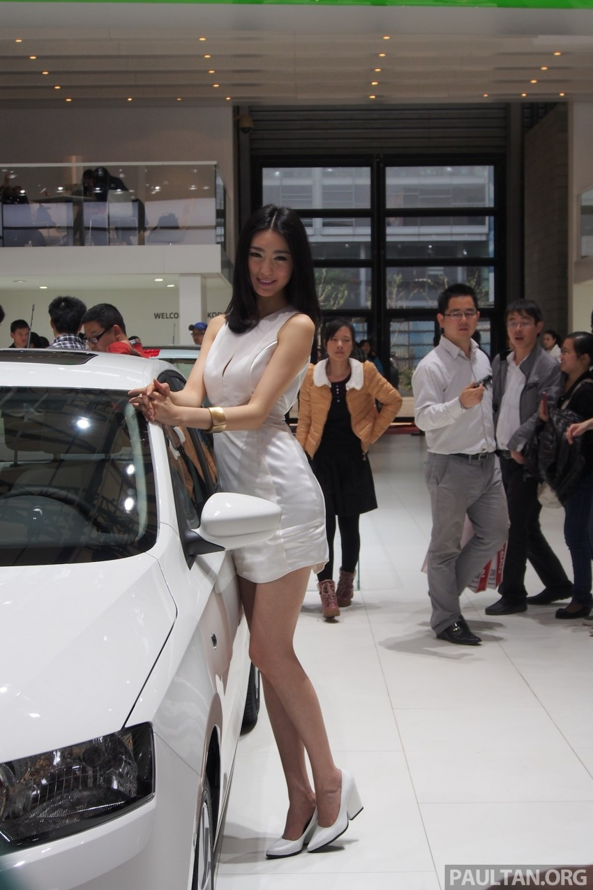 Mysterious ladies of Shanghai 2013 end our coverage Image #170439