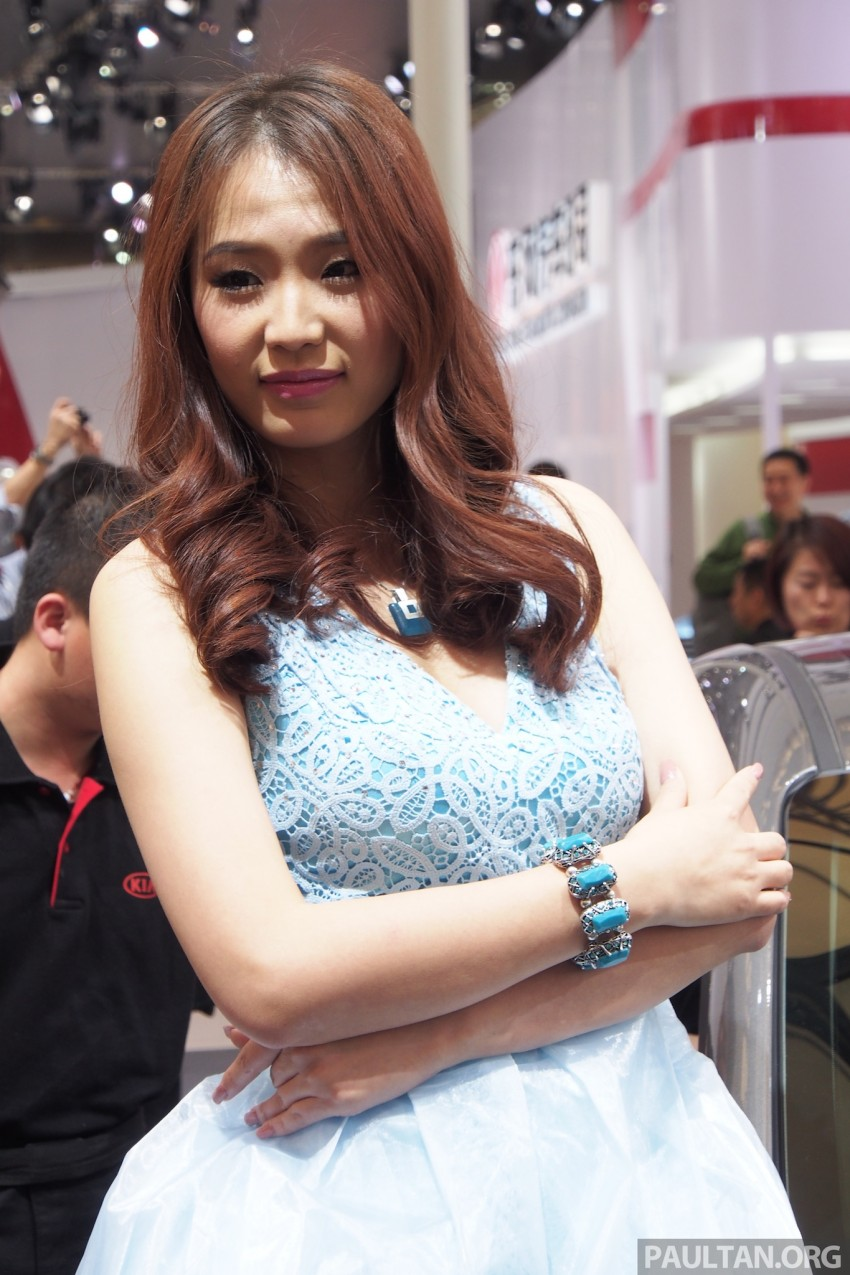 Mysterious ladies of Shanghai 2013 end our coverage Image #170448