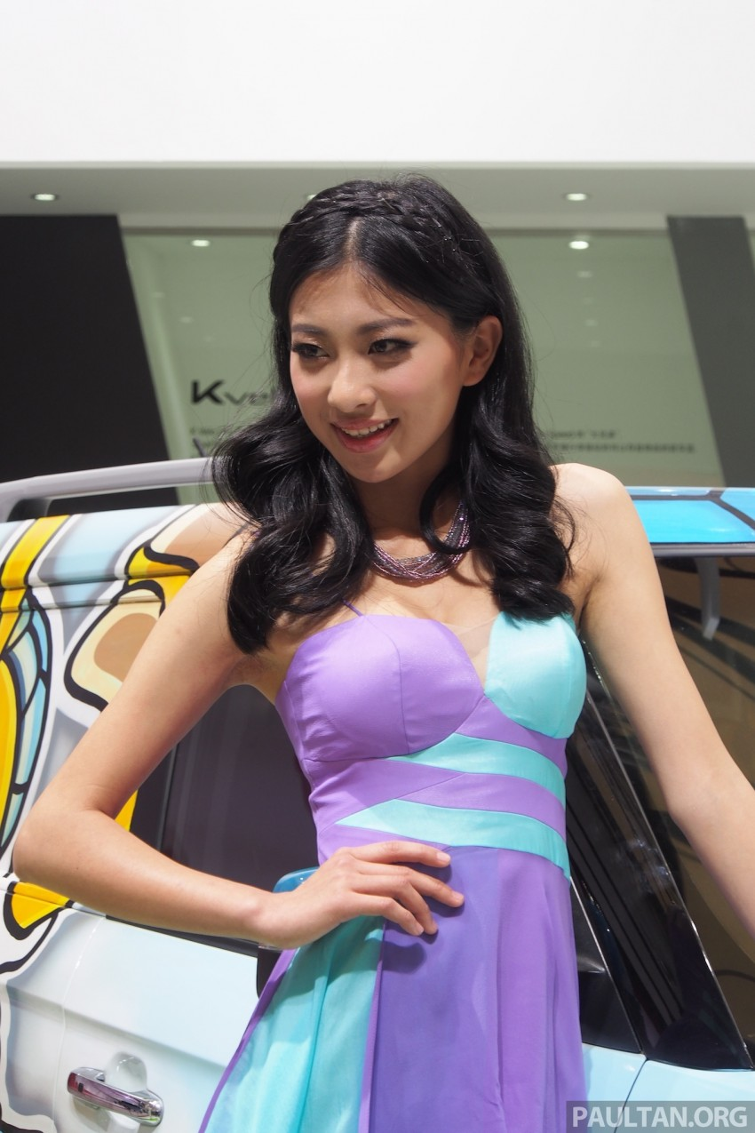 Mysterious ladies of Shanghai 2013 end our coverage Image #170457