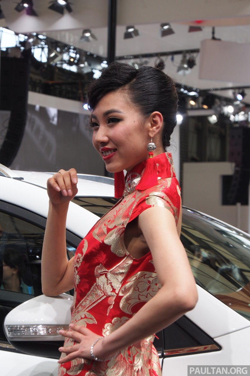 Mysterious ladies of Shanghai 2013 end our coverage Image #170465