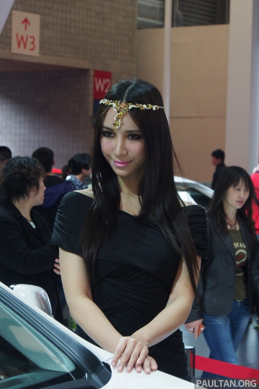 Mysterious ladies of Shanghai 2013 end our coverage Image #170426